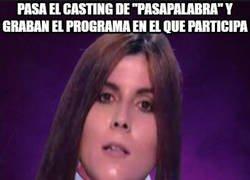 Enlace a Consigue que la cojan para concursar en Pasapalabra y cancelan el programa...