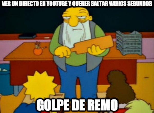 Golpe_de_remo - Gente que se olvida de que es en vivo