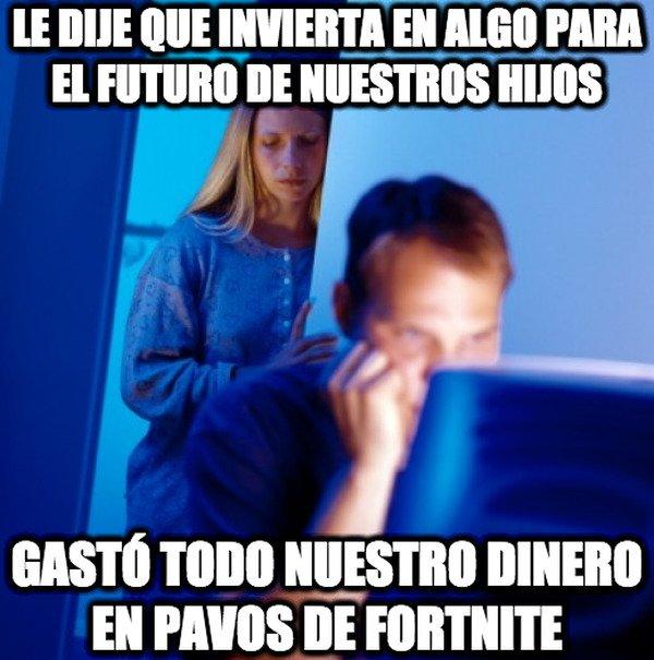 Marido_internet - El Fortnite no solo afecta a los chavales