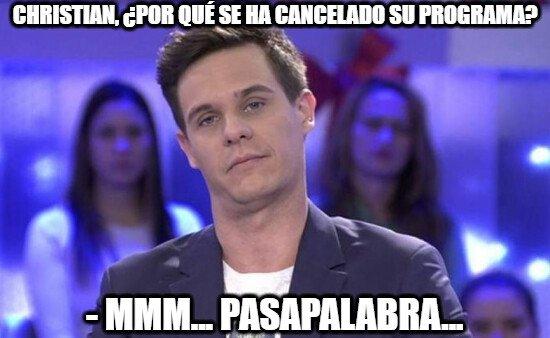 Meme_otros - A Christian Gálvez le va a costar deshacerse de esa muletilla...