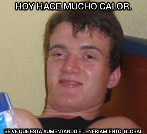Colega_fumado - Mucho calor.