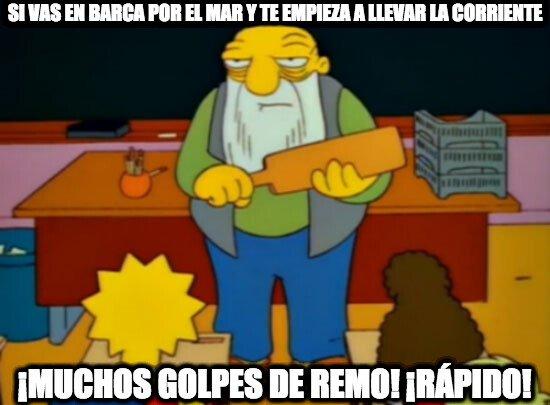 Golpe_de_remo - Ahí sí que hacen falta los golpes de remo