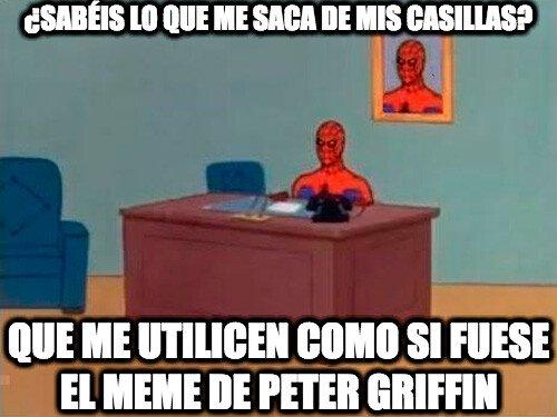 Spiderman60s - Spiderman haciendo el trabajo de Peter Griffin