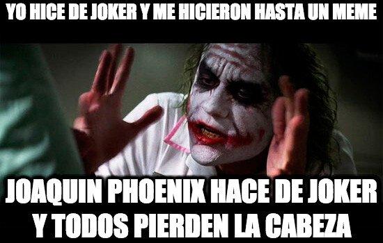 Joker - Pobre Heath Ledger, ya nadie se acuerda de él