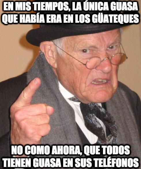 En_mis_tiempos - Whatsapp, abuelo, se dice Whatsapp