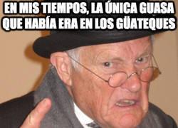Enlace a Whatsapp, abuelo, se dice Whatsapp