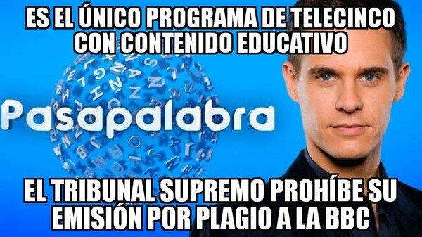 Meme_otros - Para algo decente que ponían en Telecirco...