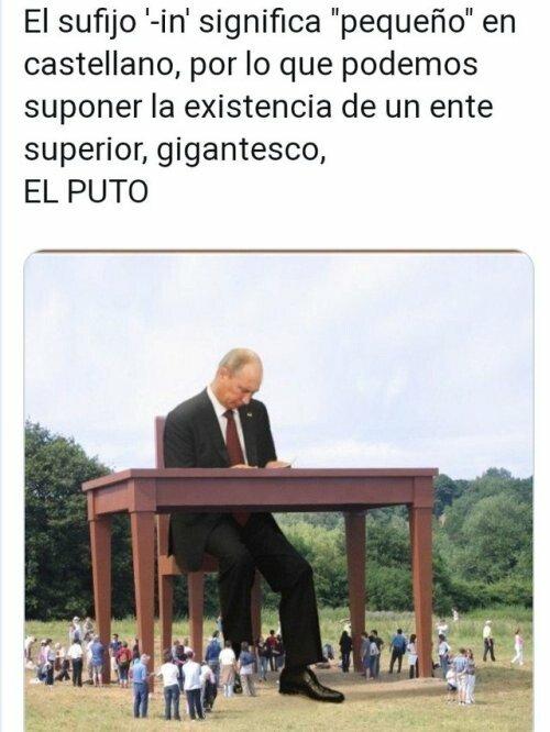 Meme_otros - Aunque no lo creas, hay algo más grande que Putin