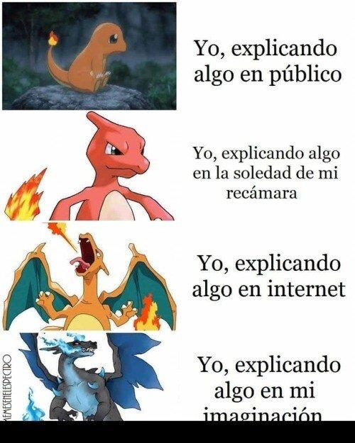 Meme_otros - Con Pokémon es como me explico mejor