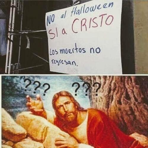 Meme_otros - Jesucristo perdónalos, no saben lo que dicen