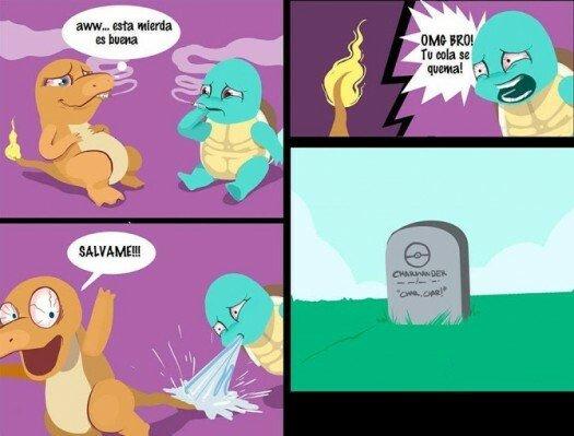 Otros - Desde entonces no se ha vuelto a ver a un Pokémon fumando