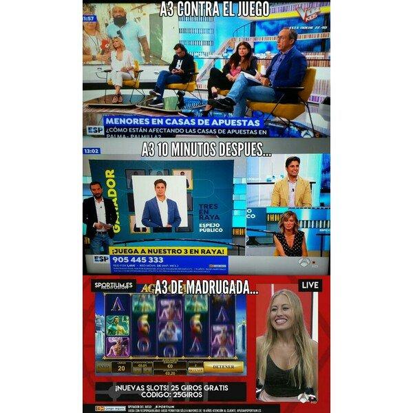 Meme_otros - La extraña moralidad de los medios...