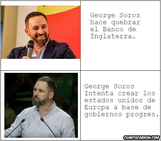 europa,George Soros,molesto,progres,Santiago Abascal