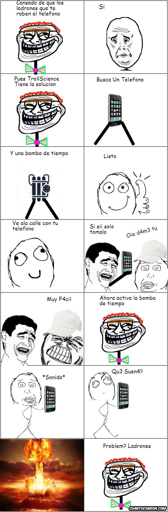 Trollface - Problem Ladrones?