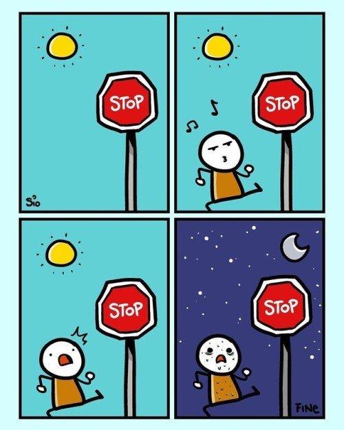 Otros - ¿Hasta cuándo tengo que seguir respetando la señal?