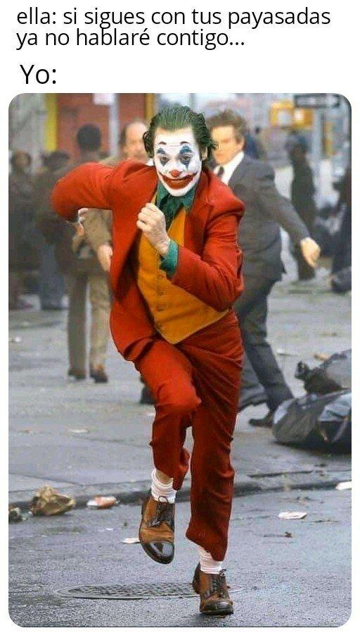 Joker - Pues seguiré riendo solo...