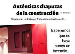 Enlace a Auténticas chapuzas de la construcción