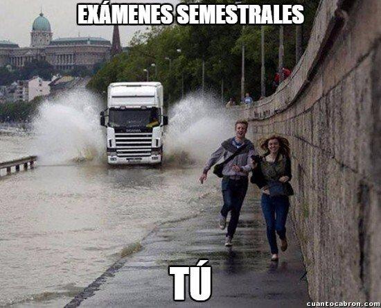 Meme_otros - Así se percibe los examenes semestrales