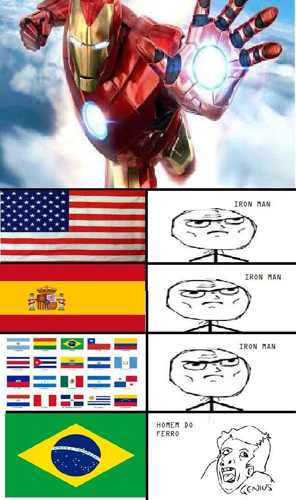Genius - Como se le llama a Iron Man en diferentes regiones