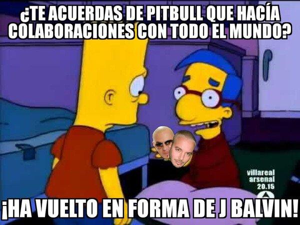 Meme_otros - J Balvin es el nuevo Pitbull