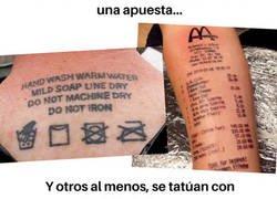 Enlace a Tatuajes que nadie en su sano juicio se haría