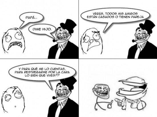 Meme_trollface - La mejor manera de vivir