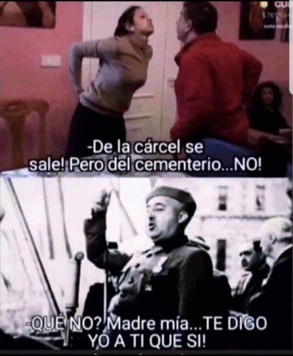 Meme_otros - Si Franco se pusiera barriobajero