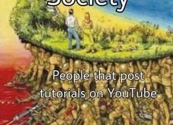 Enlace a Nuestra sociedad se sustenta gracias a ellos