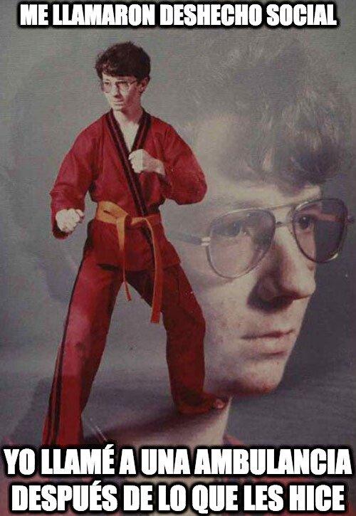 Karate_kyle - Cuidadito con quien te metes