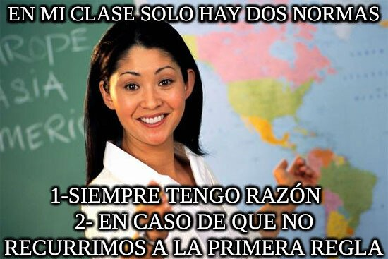 Profesora_cabrona - Las profesoras