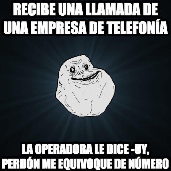 Meme_forever_alone - Ni con las empresas