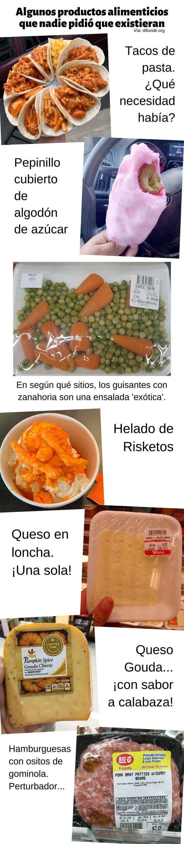 Meme_otros - Algunos productos alimenticios que nadie pidió que existieran