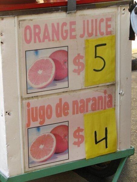 Otros - Orange juice...