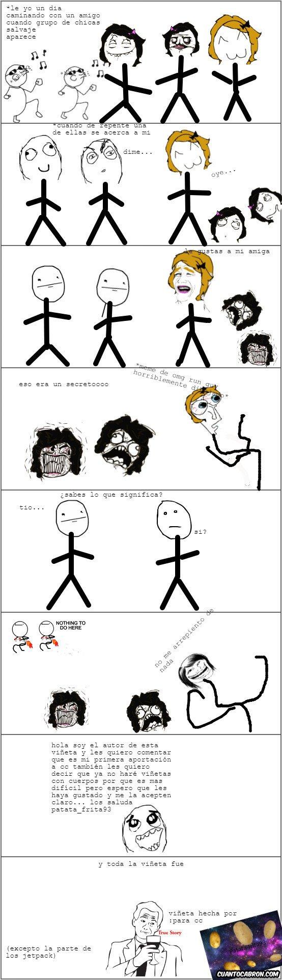 True_story - Un día normal en el colegio pasó esto...