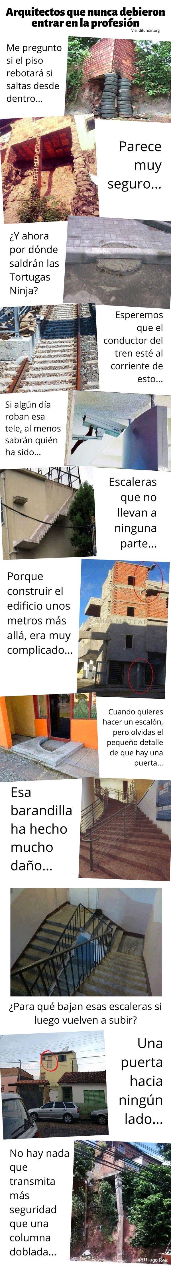 Meme_otros - Arquitectos que nunca debieron entrar en la profesión