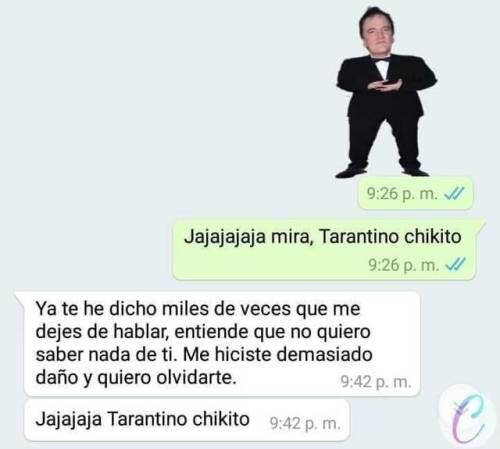 Meme_otros - Nadie puede resistirse al Tarantino chiquito