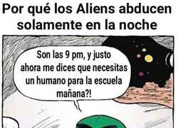 Enlace a Los humanos solo somos un trabajo del cole para los aliens
