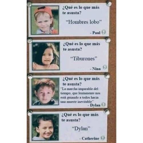 Otros - Dylan es un chico perverso