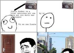 Enlace a No más Justin Bieber
