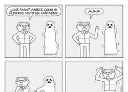 Enlace a Una aparición fantasmal