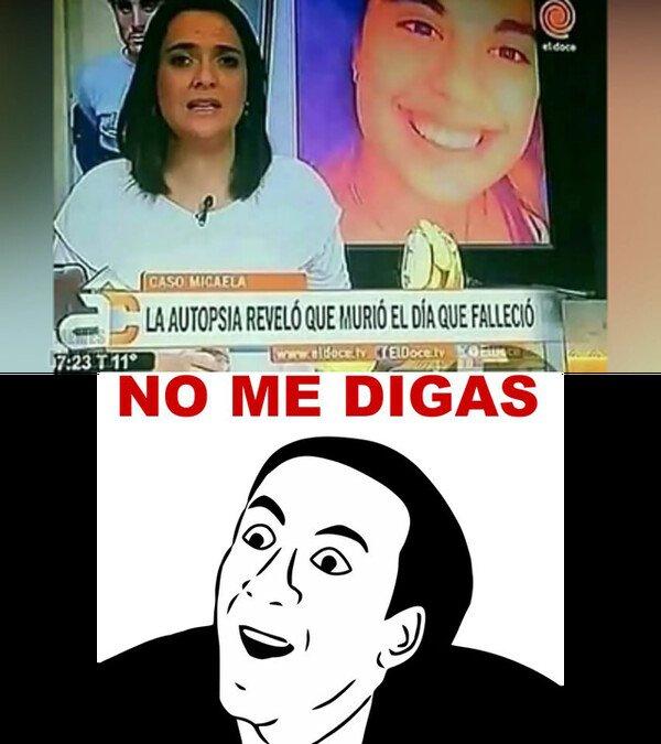No_me_digas - Rematada