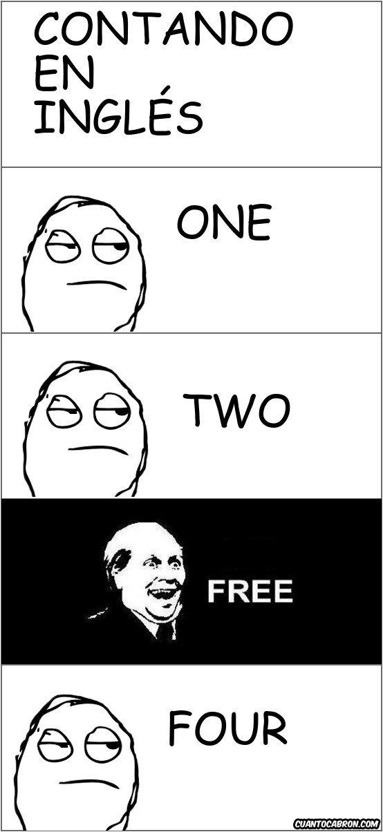 Its_free - Contando en inglés...