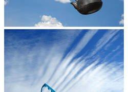 Enlace a Arte hecho con nubes