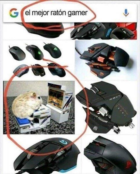 Meme_otros - El mejor ratón gamer, sin lugar a dudas