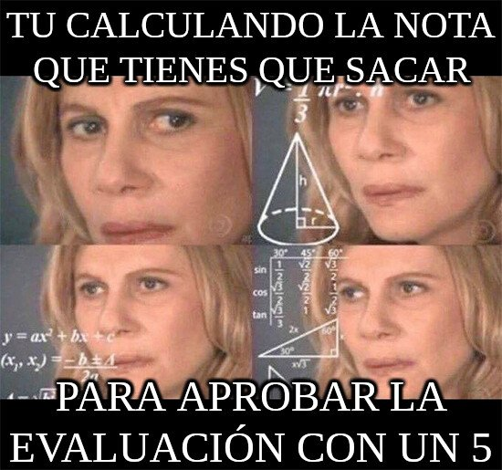 Math_lady - Cuando estudias bachillerato