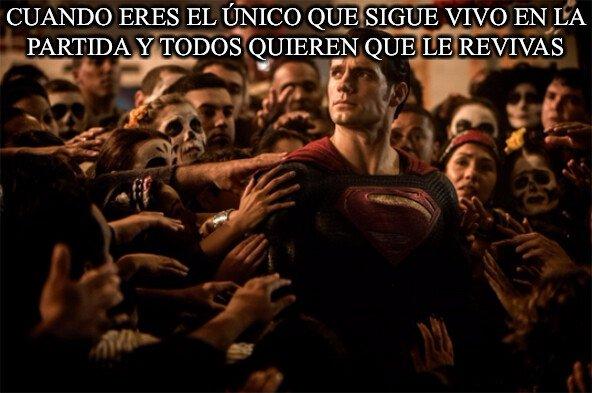 Superman_heroe - Debo ser el salvador de todo el grupo