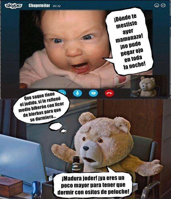 Meme_otros - Baby Ted