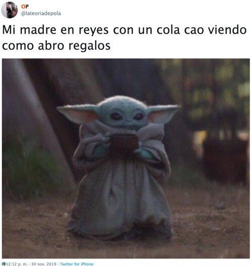 Otros - Baby Yoda me recuerda a mi madre