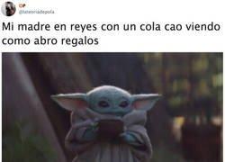 Enlace a Baby Yoda me recuerda a mi madre