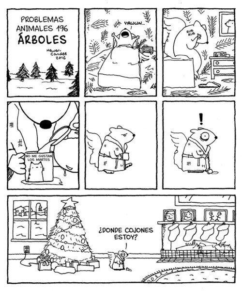 Otros - Problemas actuales de vivir en un árbol